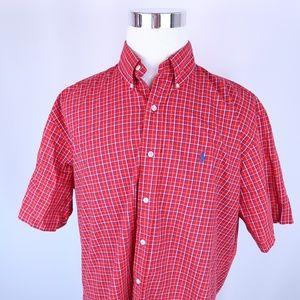 Ralph Lauren Blake Short Sleeve Plaid Shirt